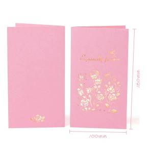 Secret Garden 6 Elegant Greetings Design Thank you cards