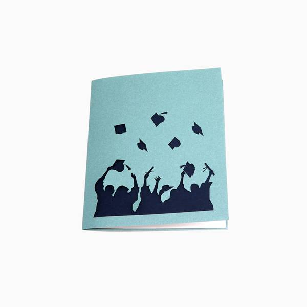 Professional ChinaLove Pop Up Card - Graduation 3d pop up greeting cards – Jiujv