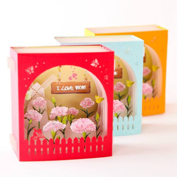 Good Wholesale VendorsPaper Laser Cut Service - PaperSpiritz Mothers Day Card from Son or Daughter  – Jiujv