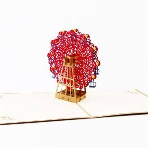 Ferris Wheel 3D Pop Up Greeting Card for All Occasions