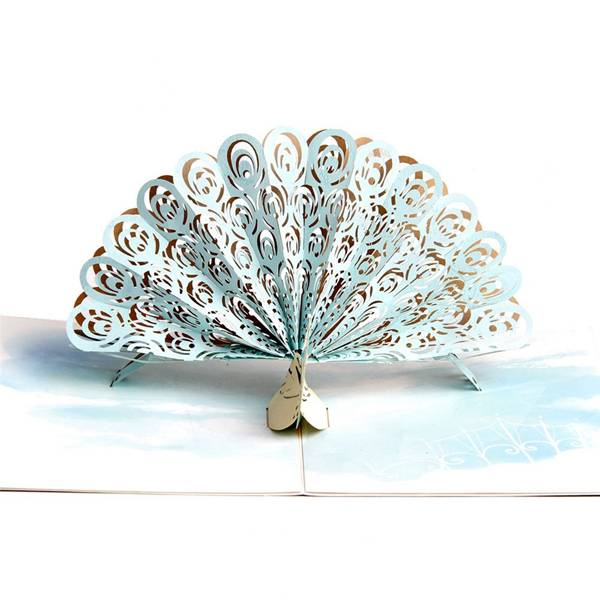 Factory Outlets 3d Laser Cut Card –  Pop Up Peacock Special Gift Card – Jiujv Featured Image