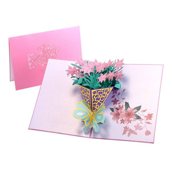 Reasonable price for Angel Pop Up Card -  Narcissus Bouquet  3D Popup Cards with  Flower Themes Includes Envelopes – Jiujv