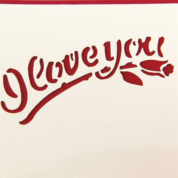 Factory wholesale Birthday Cards For Ada - Best Paper Greetings Romantic Love Heart Themed Popup Greeting Cards for Valentine's Day and Anniversaries – Includes Envelopes – Jiujv