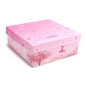 New Design Pop Up Cherry Flower Gift Box