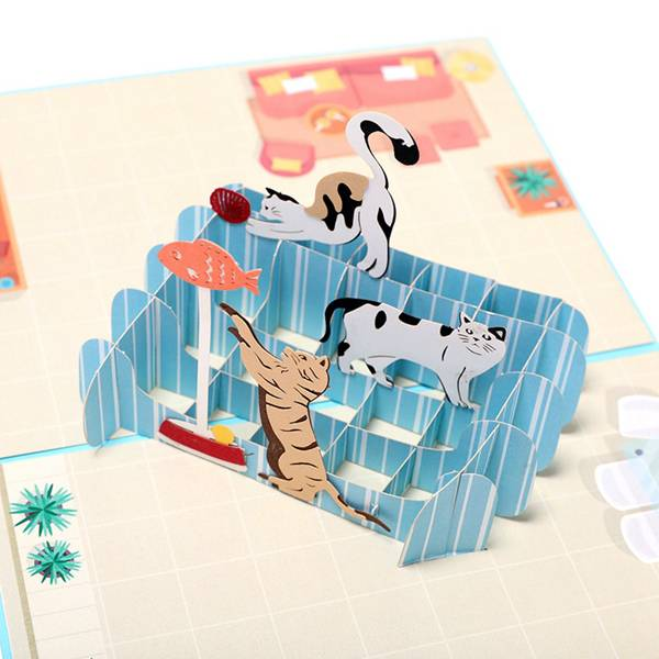 China New ProductHow To Make Pop Up Birthday Card -