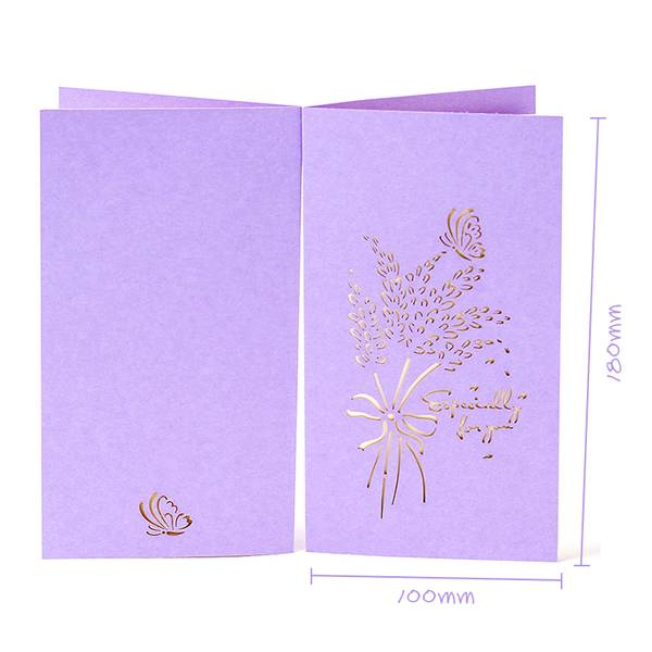 Discount wholesale Rose Pop Up Card -