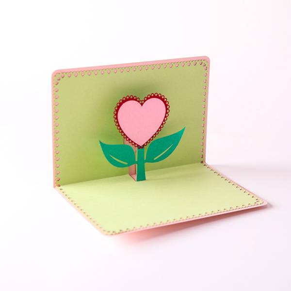 2017 New Style Popup Card 3d -