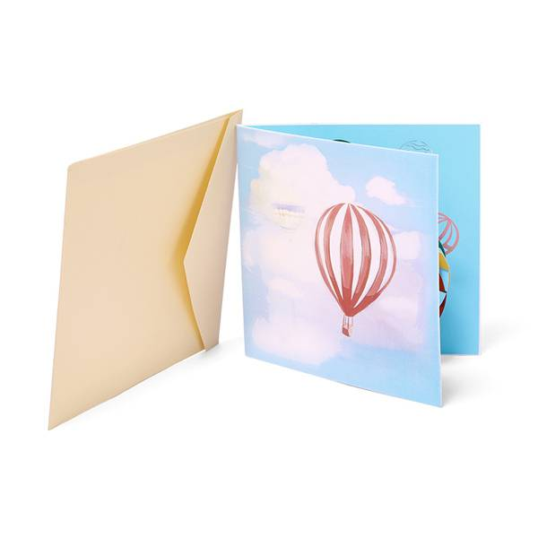 Rapid Delivery for How To Pop Up - Handmade Colorful Balloon birthday greeting pop up card – Jiujv
