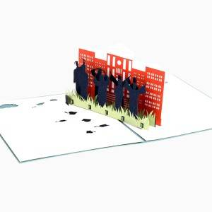 Graduation 3d pop up greeting cards