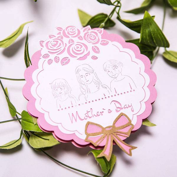 OEM Factory for Cards Online - Cheap Rose Thank you mom   postcard – Jiujv