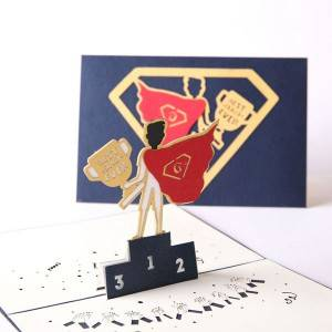 Super tata Fathers Day Pop Up Card
