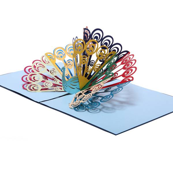 OEM manufacturer 3d Wedding Card -