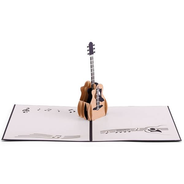 Hot Selling for 3d Birthday Cards - Guitar Greeting Card, Birthday Card, Business Card – Jiujv Featured Image