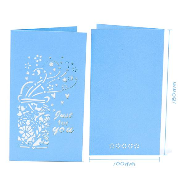 Factory Price For 3d Wedding Card Design - Thank You Greeting Card Bulk Assortment with White Envelopes – Jiujv