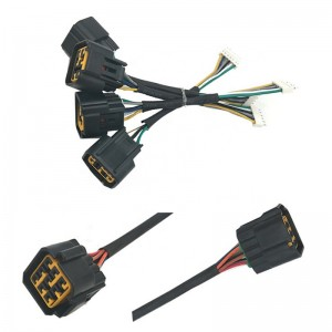Custom For Automotive cable and LED Lamp Modification wire harness