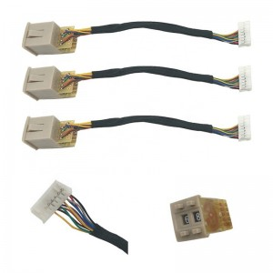 Personlized Products Power Supply - PH2.0 Cable , 2,3,4,5,6,7,8,9,10,12,14,20,24,30 pin  Wiring Harness Controller  – Hengda