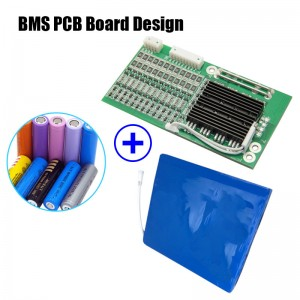 100% Original Factory Printed Circuit Board Assembly - BMS/PCM PCB for Lithium LiFePO4 Battery Pack – Hengda