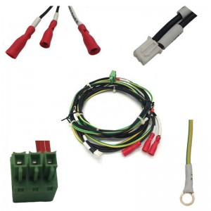 BVR Square Cable With Auto Wire Harness and Wiring Harness Charging
