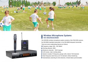 Wireless mikrofonu Sistema WS-900 / 900A / 900B