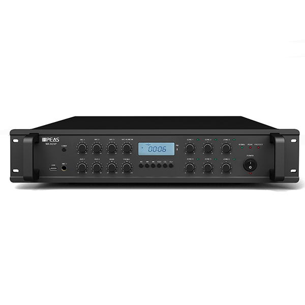 Wholesale Audio Amplifier - MA625P 60W 6 zones mixer amplifier with USB/FM/AUX / Phantom Power – Q&S