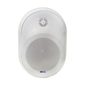 WS840 40W/8ohm Wall-mount round speaker with power tap