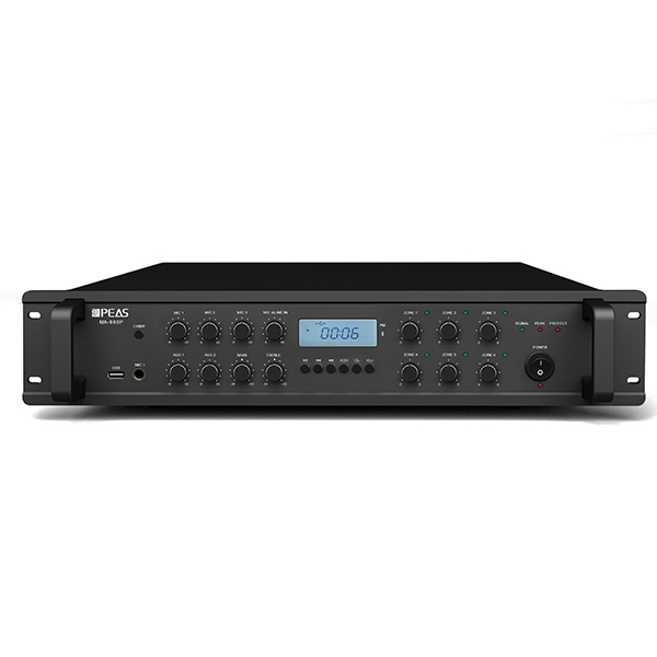 MA660P 60W  6 zones mixer amplifier with USB/FM/AUX / Phantom Power