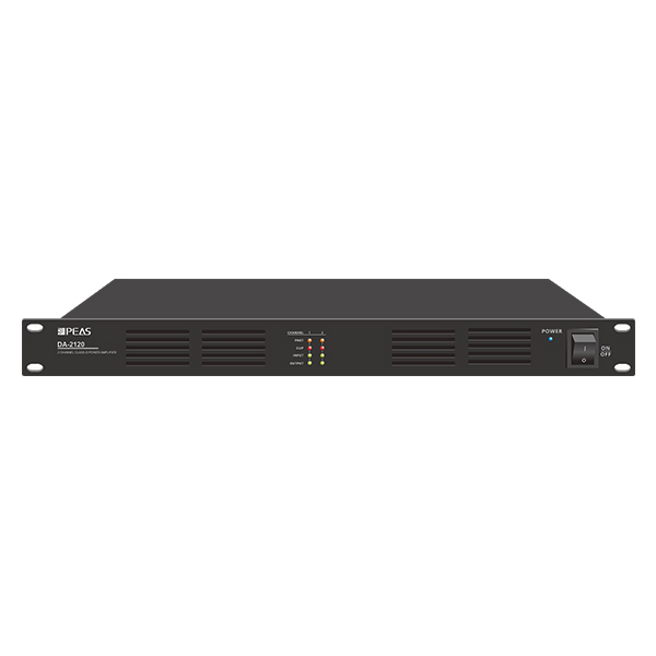 Bottom price Polycom Video Conference System - DA-2120 2 Channels 120W Class-D Amplifier – Q&S
