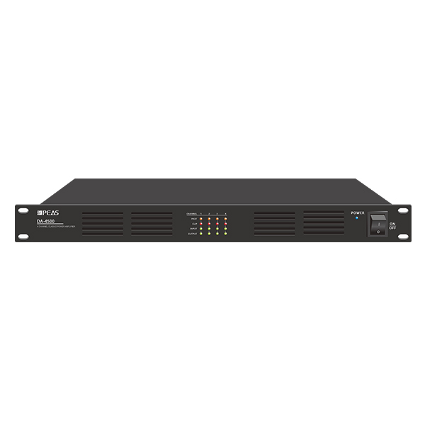 New Arrival China Multichannel Power Amplifier - DA-4500 4 Channels 500W Digital Class-D Amplifier – Q&S