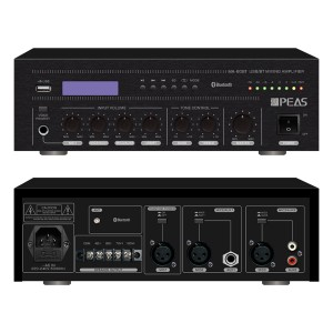 MA-60BT 60W Amplifier Mixing USB / BT with 3MIC & 2AUX