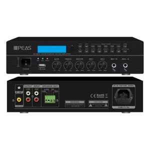 MA-60DA 60W Digital Mixing Amplifier με FM / RDS / DAB / DAB +
