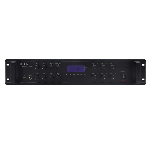 MA-635 350W Bass and treble tone control for better sound quality control