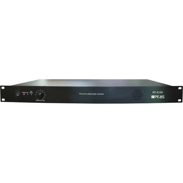 NT-4100 Rack-mount IP Network Audio Terminal