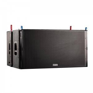 Dual 18-inch linear bass speakers (passive/active with processor)