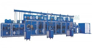 Good Quality Log Saw Machine - Full-servo Control Horizonal Panty Liner Production Line – Peixin