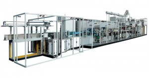 Full-servo Control Pet Mattress Production Line