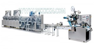 30-120 Pieces Full Auto Wet Wipe Production Line