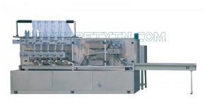 Wholesale Price Pad Making Machine - 80 Pieces Automatic Wet Tissue Folding Machine – Peixin