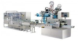 China wholesale Napkin Tissue Machine - 5-20 Pieces Full Auto Wet Wipe Production Line – Peixin