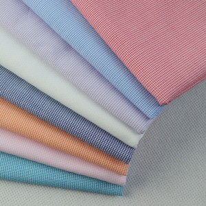 T / C 65/35 Dyed shirting Fabric