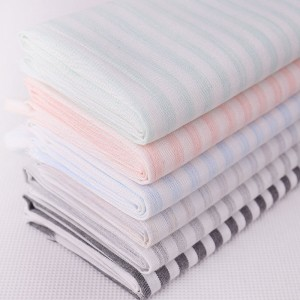 High Quality 100% Cotton Yarn Dyed Fabric -