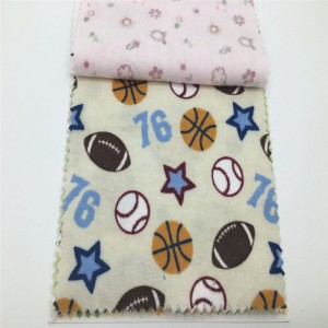 100%cotton flannel fabric 20s*10s