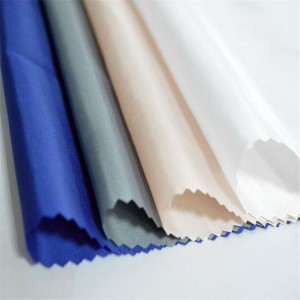 Poly fabric 210t taffeta fun awọ