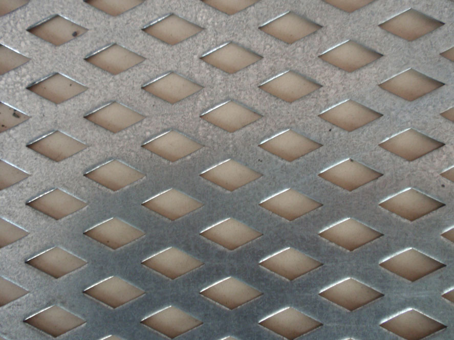 Round hole perforated stainless steel plate