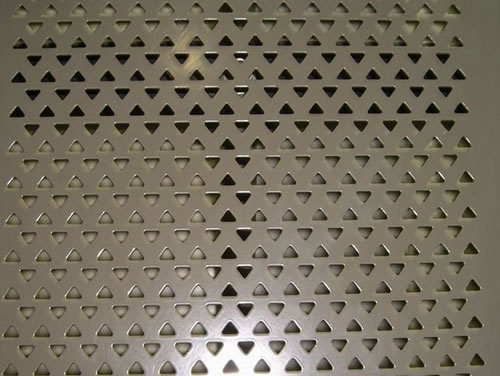 Sound proof perforated metal