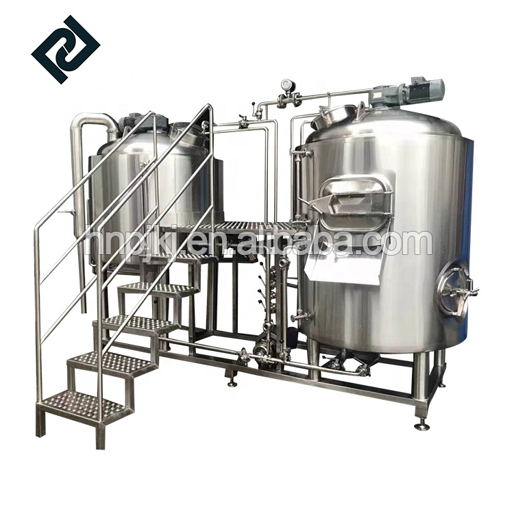 Big discounting Diy Home Beer Brewing Equipment - 1000L beerhouse stainless steel beer brewing equipment for bar and restaurant micro brewery 1000L – Pijiang