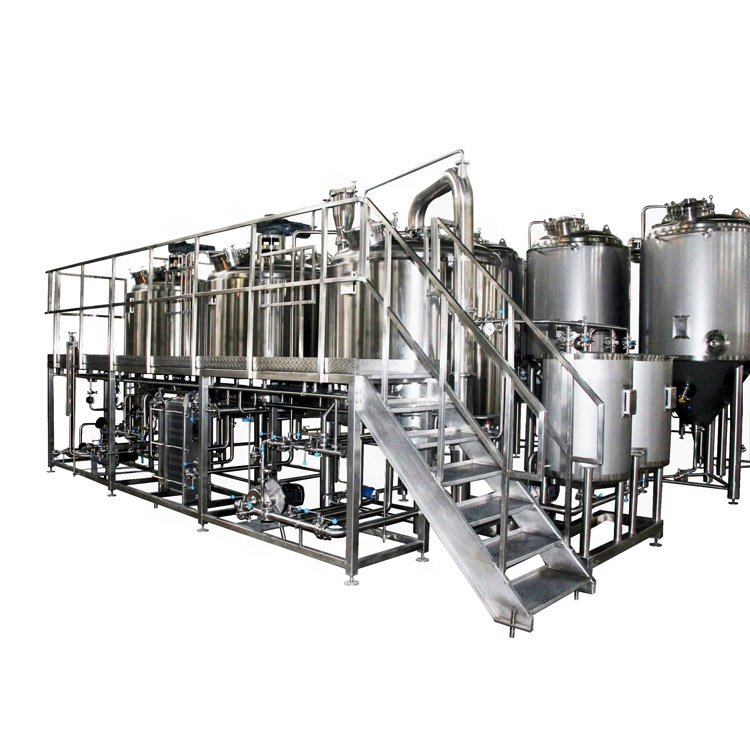 2020 Latest Design Equipment 2000l 304 Stainless - 500L-10000L restaurant micro beer brewhouse equipment – Pijiang