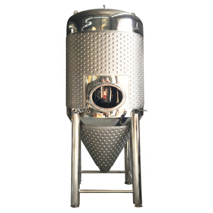High reputation Beer Fermentation - beer brewing equipment 1000L fermentation tank 10hl brew unitank for brewing – Pijiang