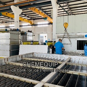 Best quality Freezing Plate Ice Bank - Ice Water Storage System of Ice Bank  – Chemequip Industries Co., Ltd.