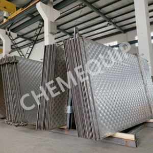 Okun lesa Welded Irọri Awo Heat Exchanger