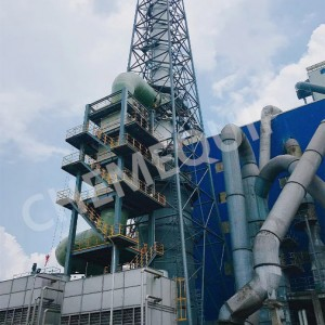 Efisiensi Tinggi Off -gas Heat Exchanger digawe dening Piring Bantal